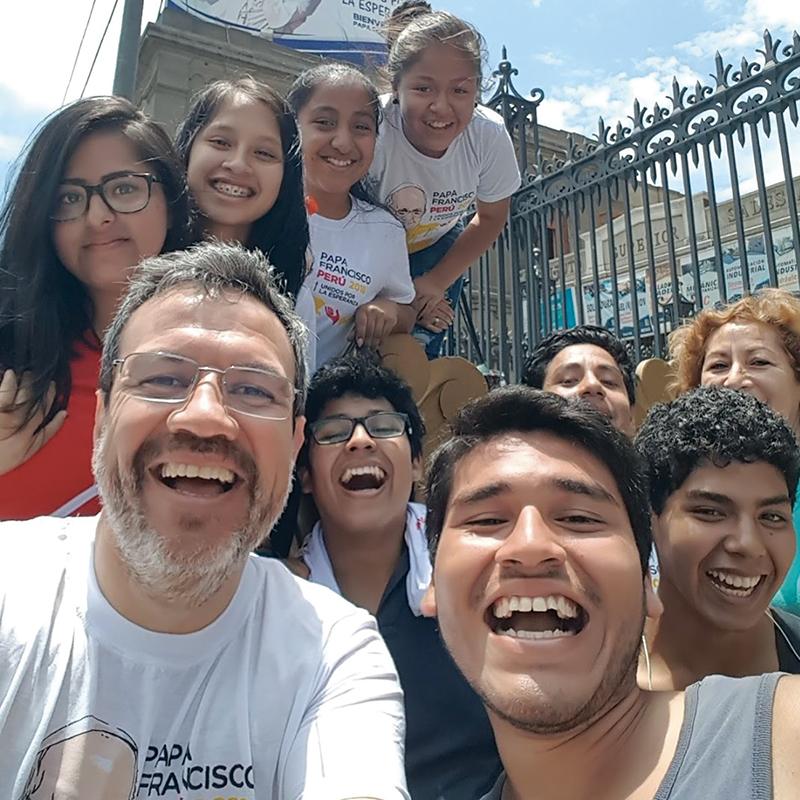 P. Manuel Cayo Ispettore del Perù