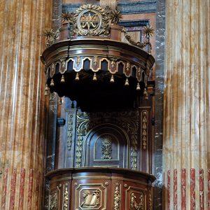 Il pulpito della Basilica